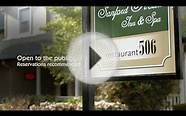 Arlington fine dining in restaurant506 at The Sanford House