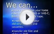 DVD Video Production Services in Mt. Pleasant, SC